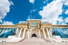 蒙古parlament资本 库存照片