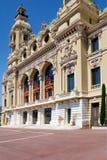 蒙地卡罗歌剧院  免版税图库摄影