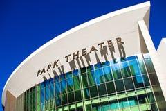 蒙地卡罗的公园剧院 免版税库存图片