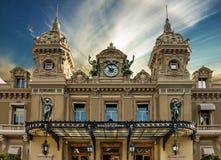 蒙地卡罗盛大赌博娱乐场,摩纳哥 免版税库存照片