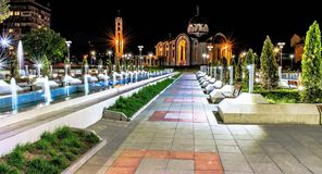 蒙大拿保加利亚新的教会 图库摄影