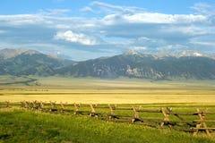 蒙大拿大农场 库存图片
