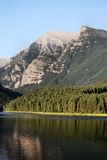 蒙大拿山 图库摄影