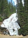 蒙大拿瀑布 库存照片