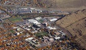 蒙大拿的大学 库存图片