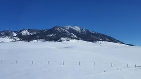 蒙大拿风景2 库存照片