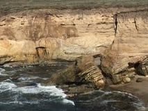 蒙大拿De Oro加利福尼亚自然桥梁拱道 库存照片