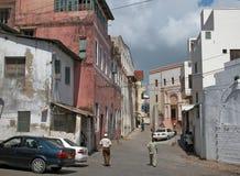 蒙巴萨老城镇 免版税库存图片