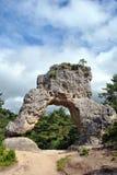 蒙彼利埃le Vieux岩石 免版税库存图片