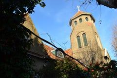 蒙得维的亚教会 免版税图库摄影