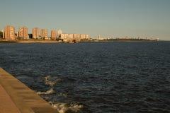 蒙得维的亚海湾 免版税库存照片