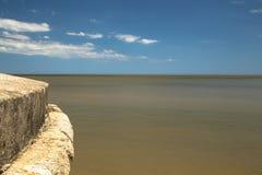 蒙得维的亚海滩 免版税图库摄影