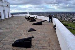 蒙得维的亚老堡垒 库存图片