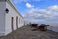 蒙得维的亚老堡垒 库存照片