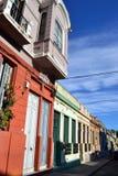蒙得维的亚街道  图库摄影