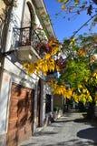 蒙得维的亚,乌拉圭街道  库存照片