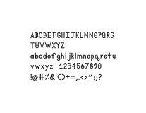 戴蒙德斯皮尔斯坚实字母表字体 库存例证