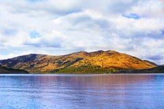 洛蒙德湖,苏格兰,从西部高地方式 免版税图库摄影
