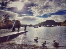 洛蒙德湖Scozia 免版税图库摄影