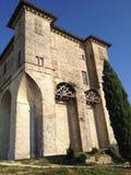 蒙托邦修道院,密地Pyreneés,法国 免版税库存图片