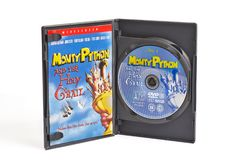 蒙提・派森和圣杯DVD 免版税库存照片