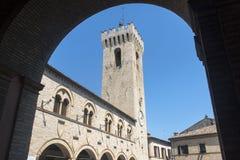 蒙泰卢波内(3月,意大利) 免版税图库摄影