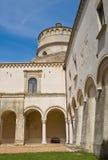 蒙泰斯卡廖索修道院。巴斯利卡塔。 图库摄影