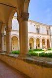 蒙泰斯卡廖索修道院。巴斯利卡塔。 库存照片
