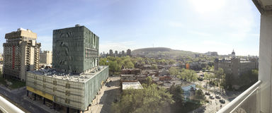 蒙特利尔公园皇家的Mont看法  库存照片