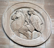 蒙特利尔共济会的纪念寺庙细节  库存照片