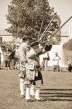 蒙特利尔军事文化节日 免版税库存图片