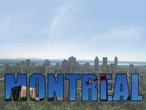 蒙特利尔加拿大视图 免版税图库摄影