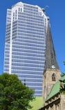 蒙特利尔国教徒基督教会大教堂 免版税库存照片