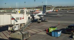 蒙特利尔国际机场 免版税库存图片