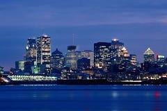 蒙特利尔地平线 免版税库存照片