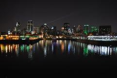 蒙特利尔地平线 免版税库存图片