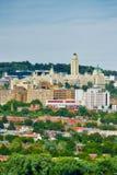 蒙特利尔大学Mont皇家的 库存图片