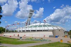 蒙特利尔奥林匹克体育场 免版税图库摄影