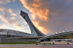 蒙特利尔奥林匹克体育场 免版税库存图片