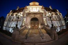 蒙特利尔市政厅 库存图片