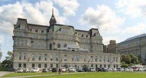 蒙特利尔市政厅 免版税库存照片