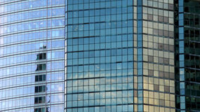 蒙特利尔摩天大楼 免版税图库摄影