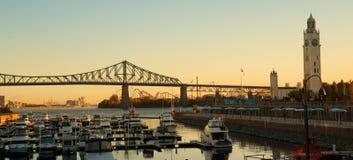 蒙特利尔桥梁 库存照片