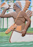 蒙特利尔植物园主楼带状装饰细节  库存照片