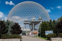 蒙特利尔生物圈,加拿大 免版税库存图片