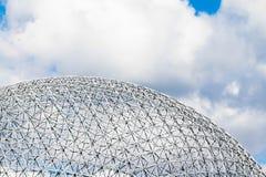 蒙特利尔生物圈结构细节 免版税库存图片