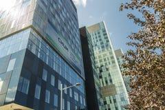 蒙特利尔的大学医院中心(密友) 免版税图库摄影