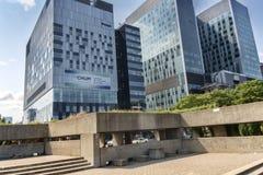 蒙特利尔的大学医院中心(密友) 免版税库存照片