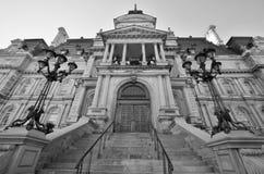 蒙特利尔的市政厅 免版税库存照片