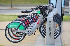 蒙特利尔自行车租务 免版税库存照片